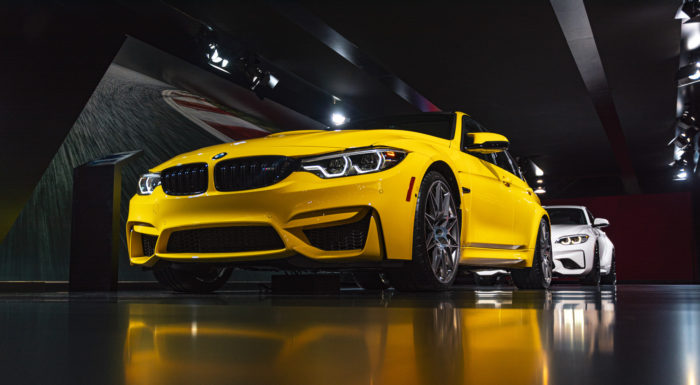 BMW M3 NYC auto show