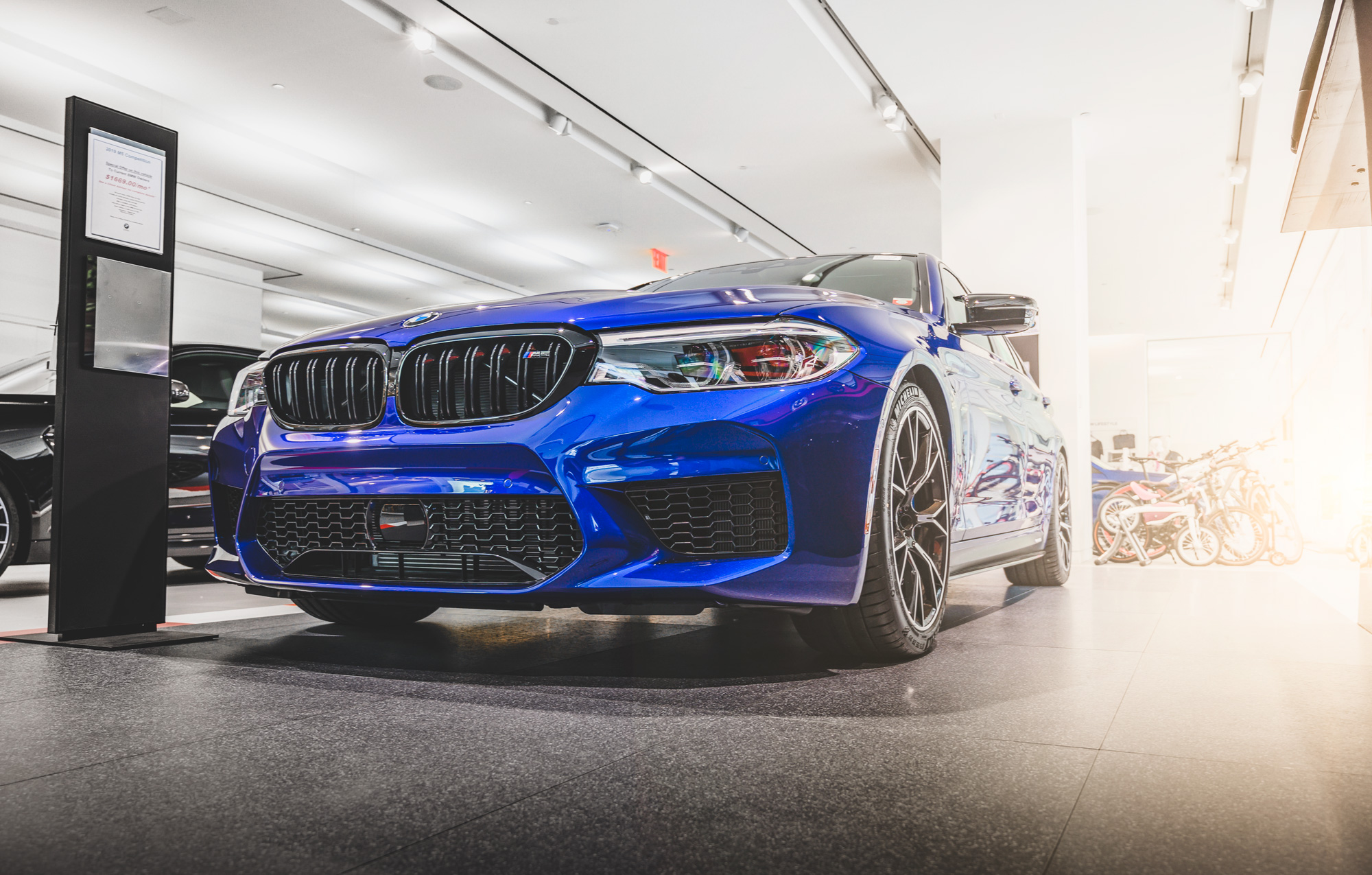 BMW F90 M5 at New York City