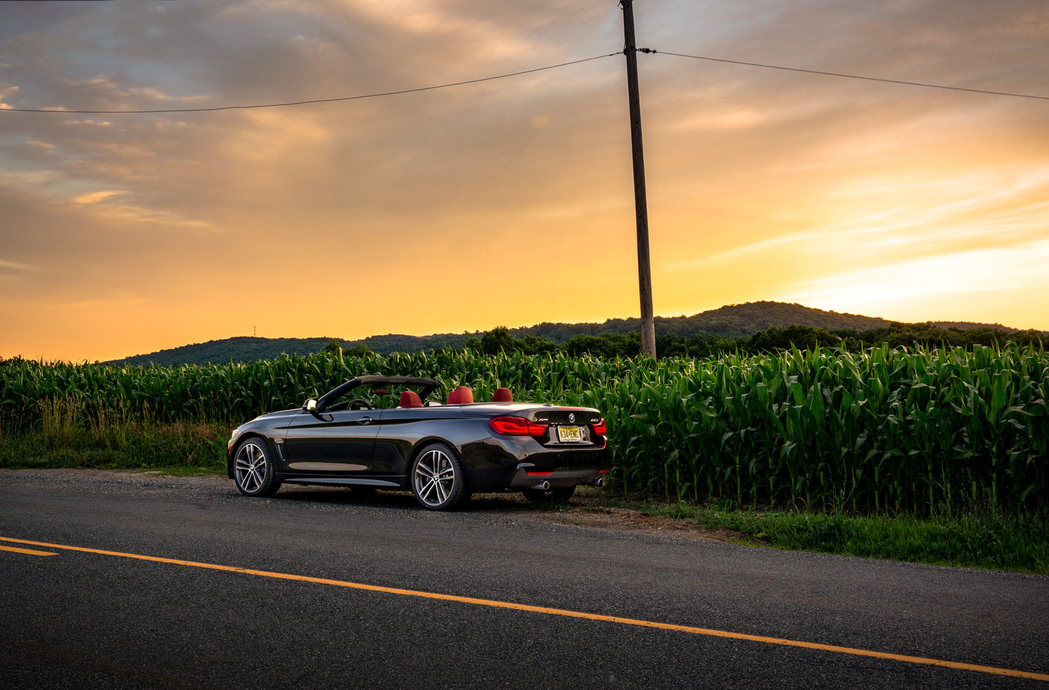 BMW 440i Sunset