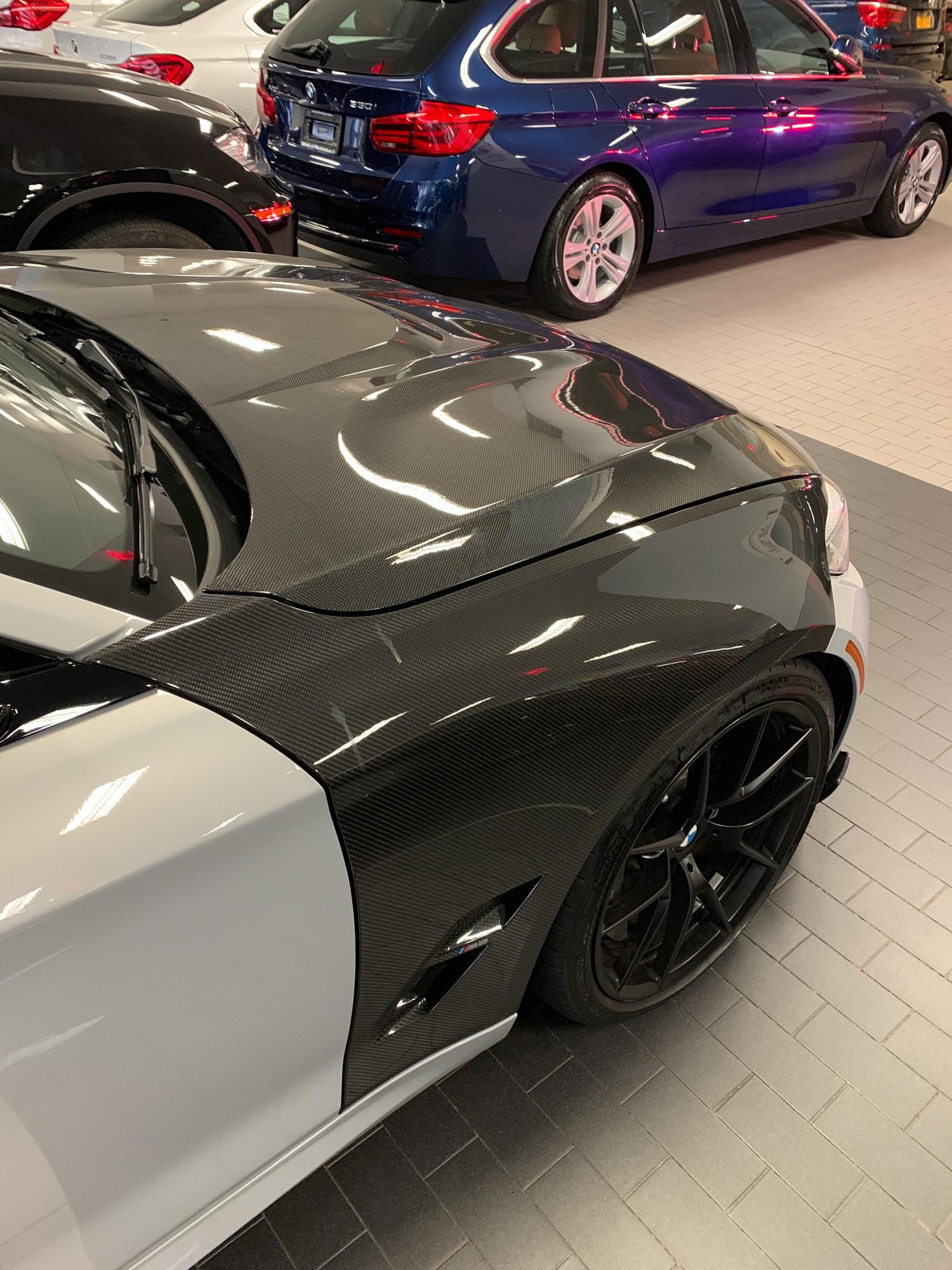 BMW M2 carbon fiber