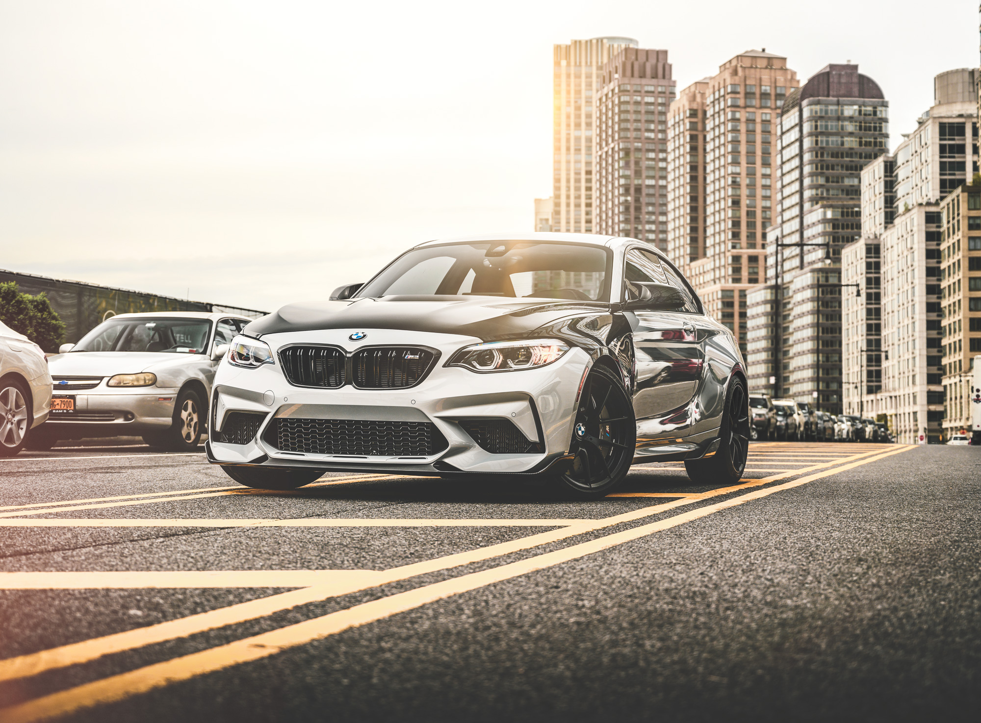 Behind the scenes on the BMW M2 photoshoot
