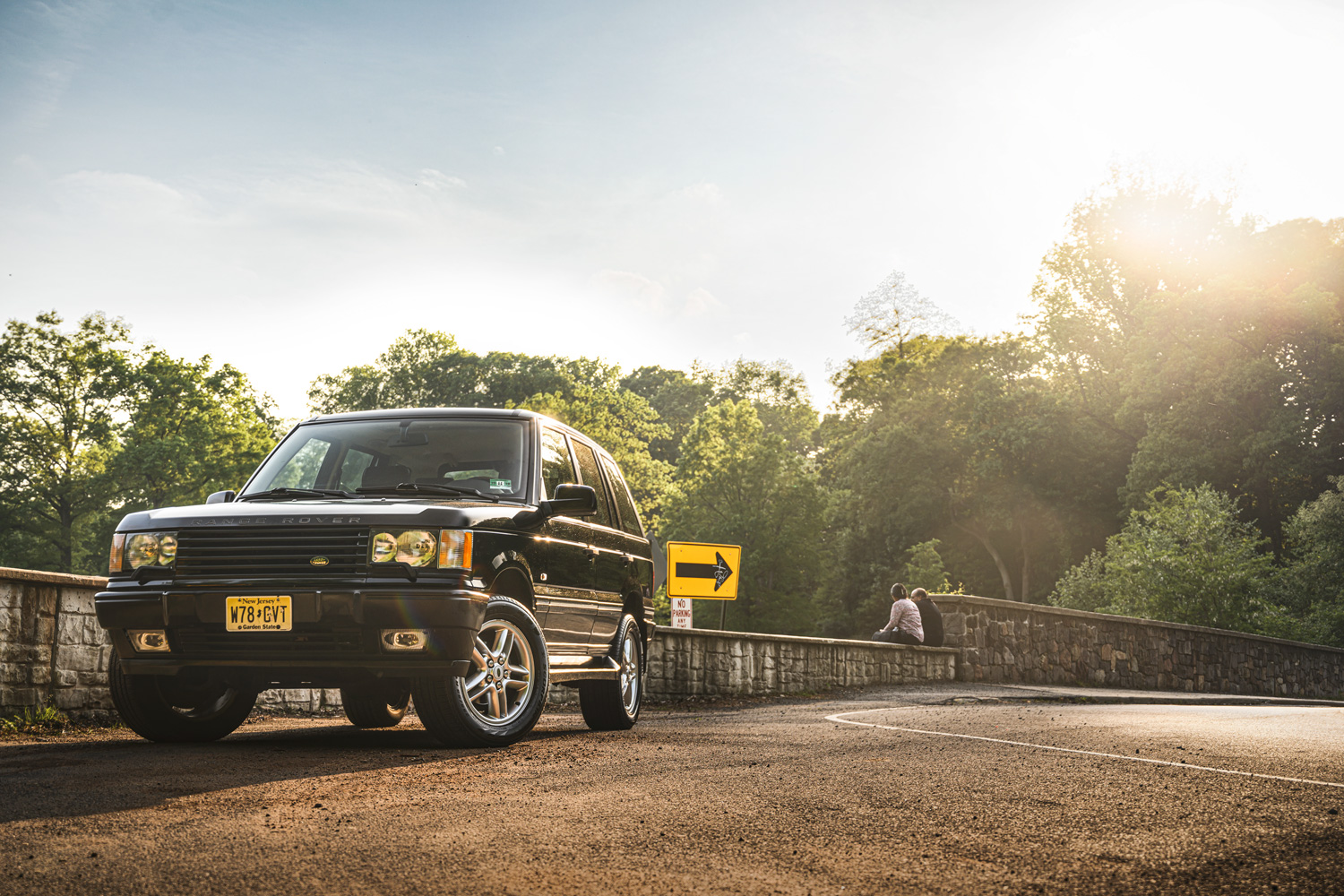 Range Rover Parked