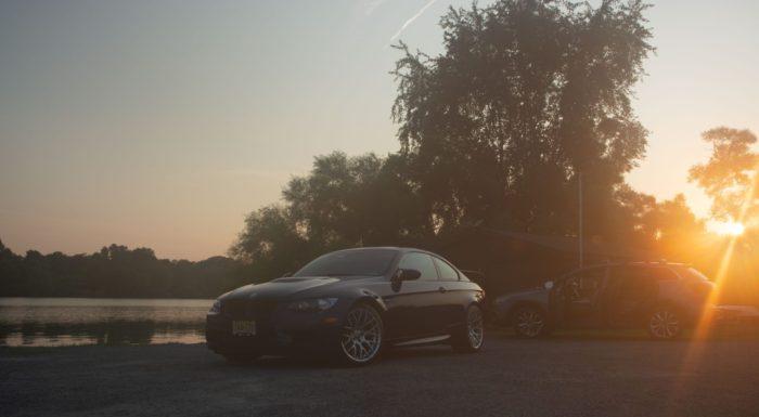 BMW E92 M3 Sunset