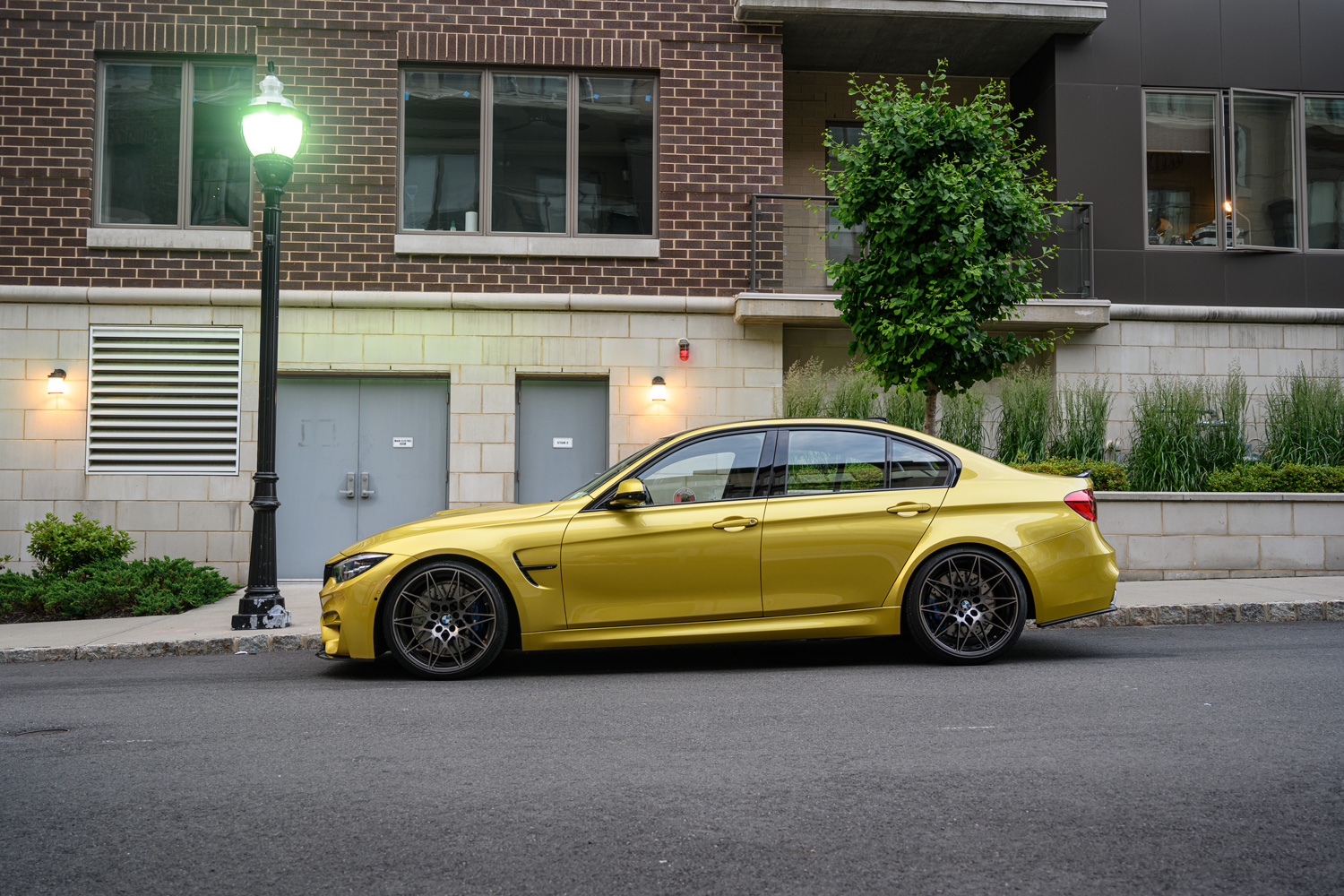 BMW M3 in Austin Yellow