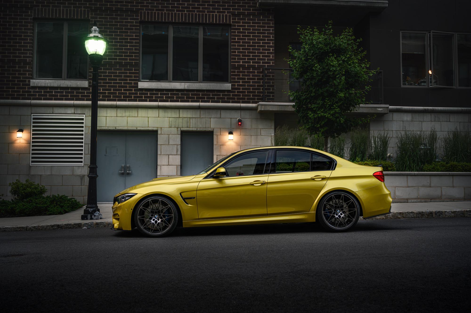 BMW M3 Austin Yellow