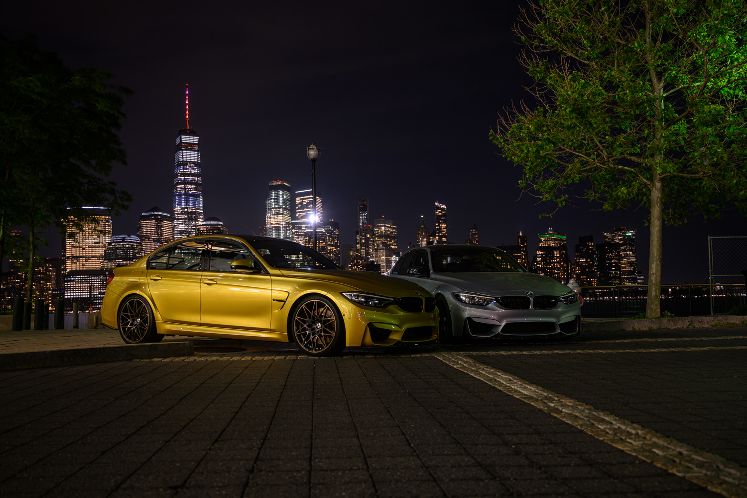 BMW M3s in NYC