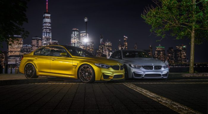 BMW M3 in NYC