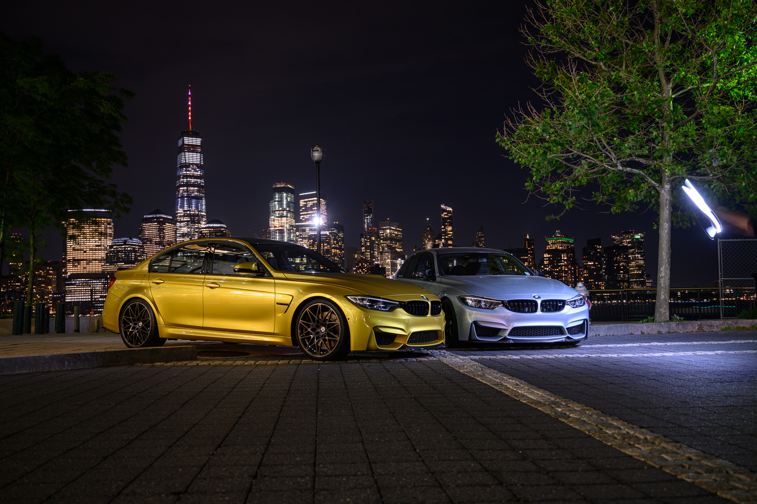 BMW M3 NYC Lightpainting