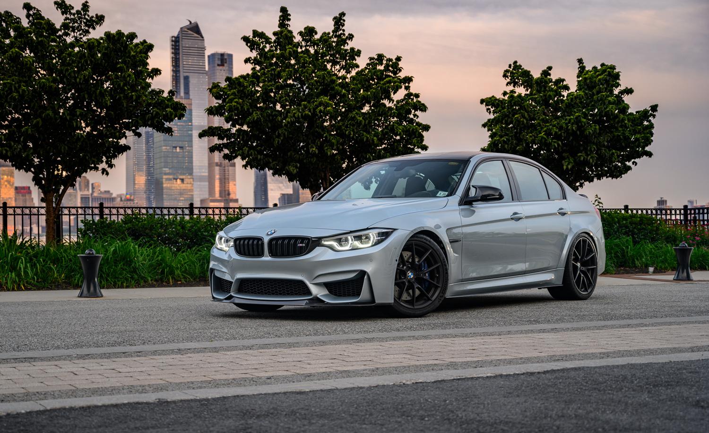 BMW M3 in Silverstone
