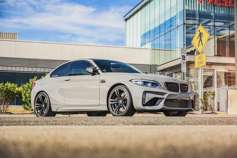 BMW M2 retouched