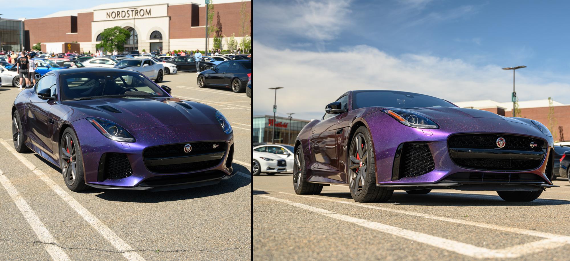 Jaguar Alternate angles