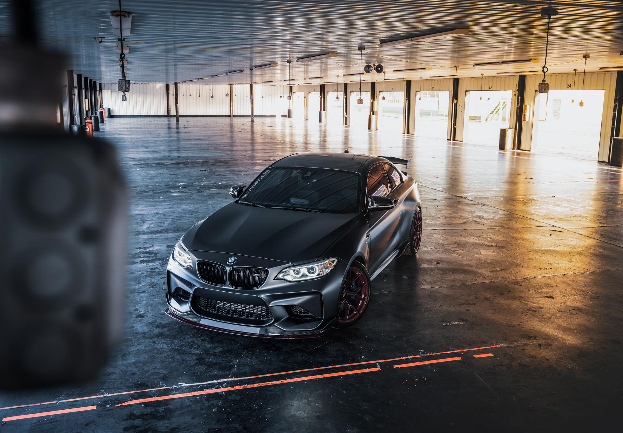 M2 Pocono garage