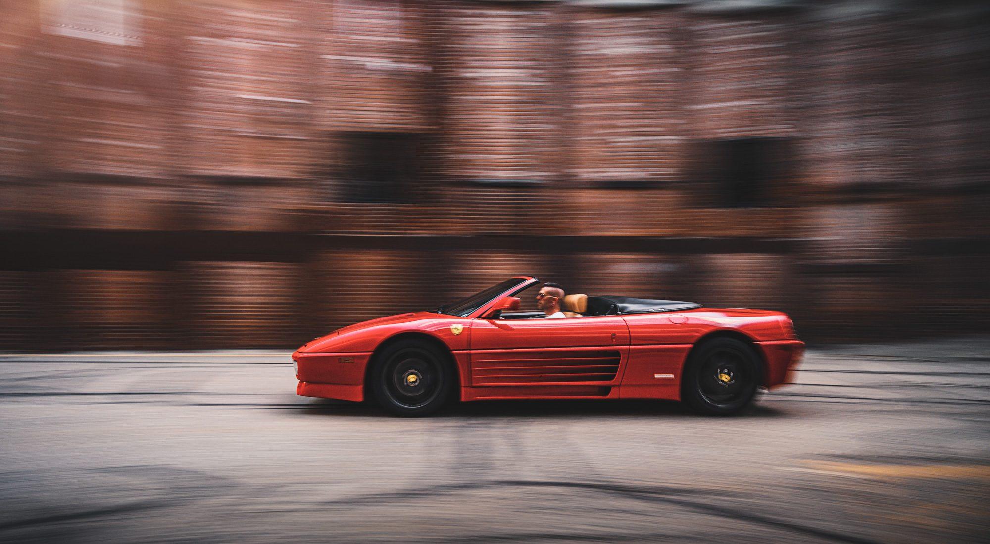 Tutorial: How I shot the Ferrari 348, and shooting a car twice.