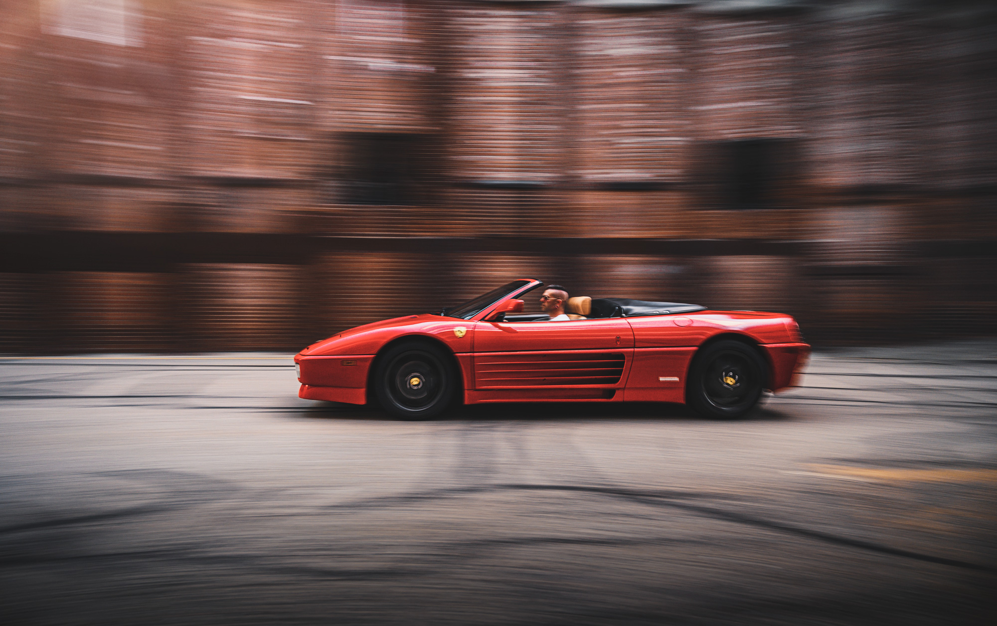 Tutorial: How I shot the Ferrari 348, and shooting a car twice.