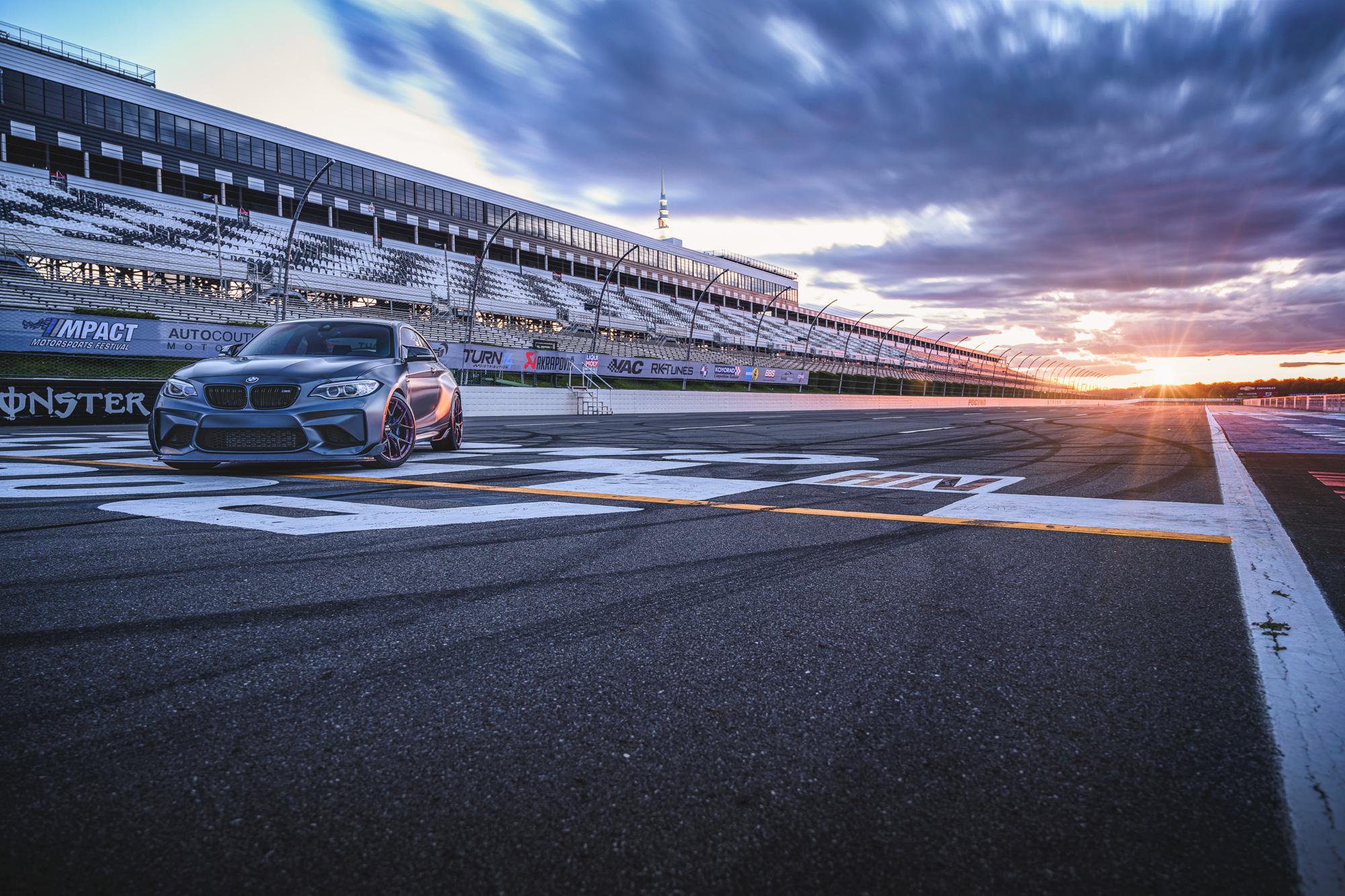 BMW M2 cloud blur
