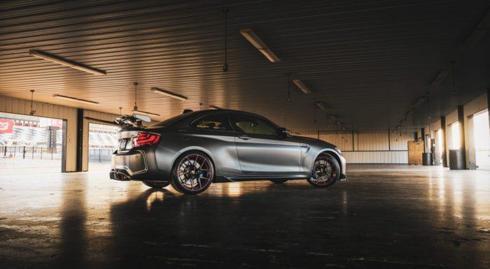 BMW M2 Pocono garage
