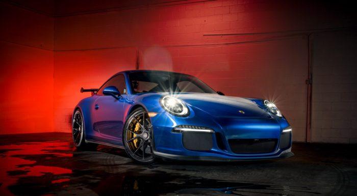 911 GT3 Light Paint