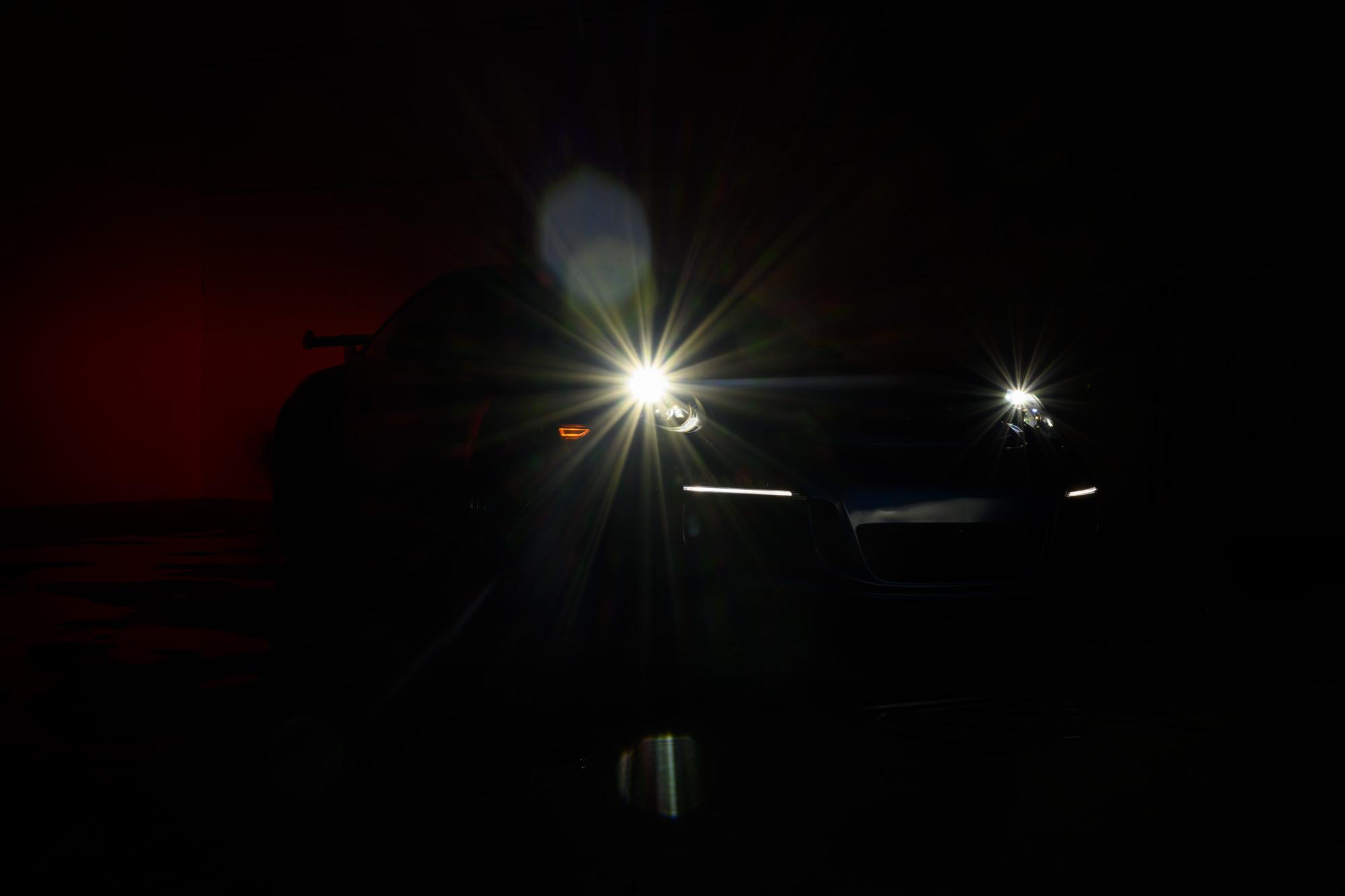 911 GT3 headlights