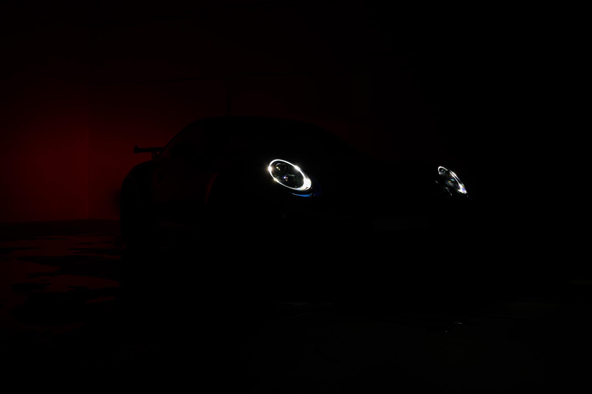 911 GT3 parking lights