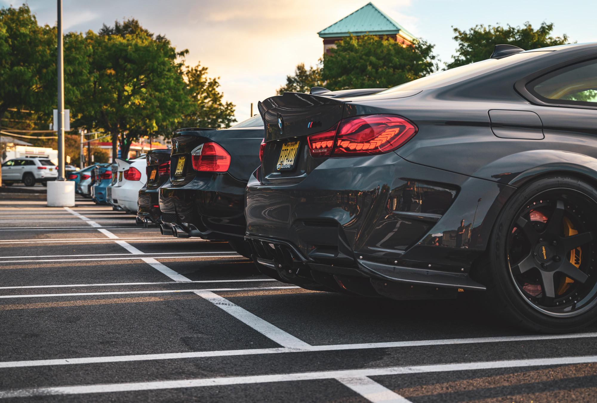 BMW M3 taillights