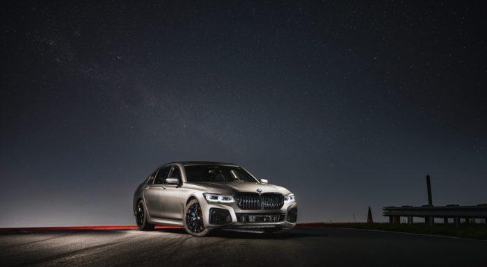 BMW M760i Galaxy