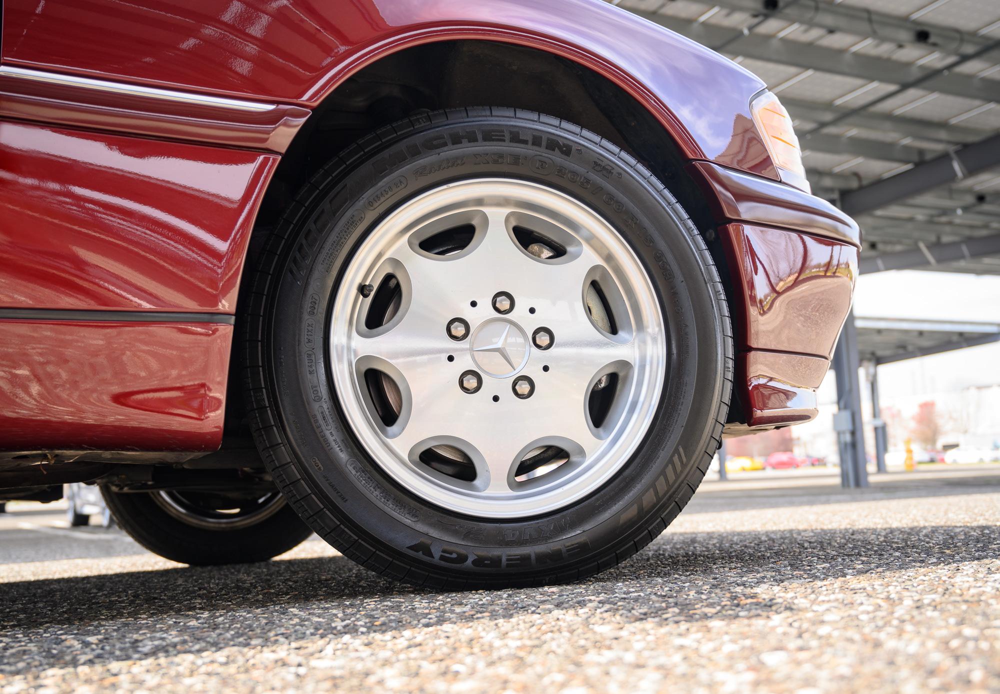 Mercedes C Class wheel