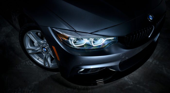 BMW 4 Series headlight