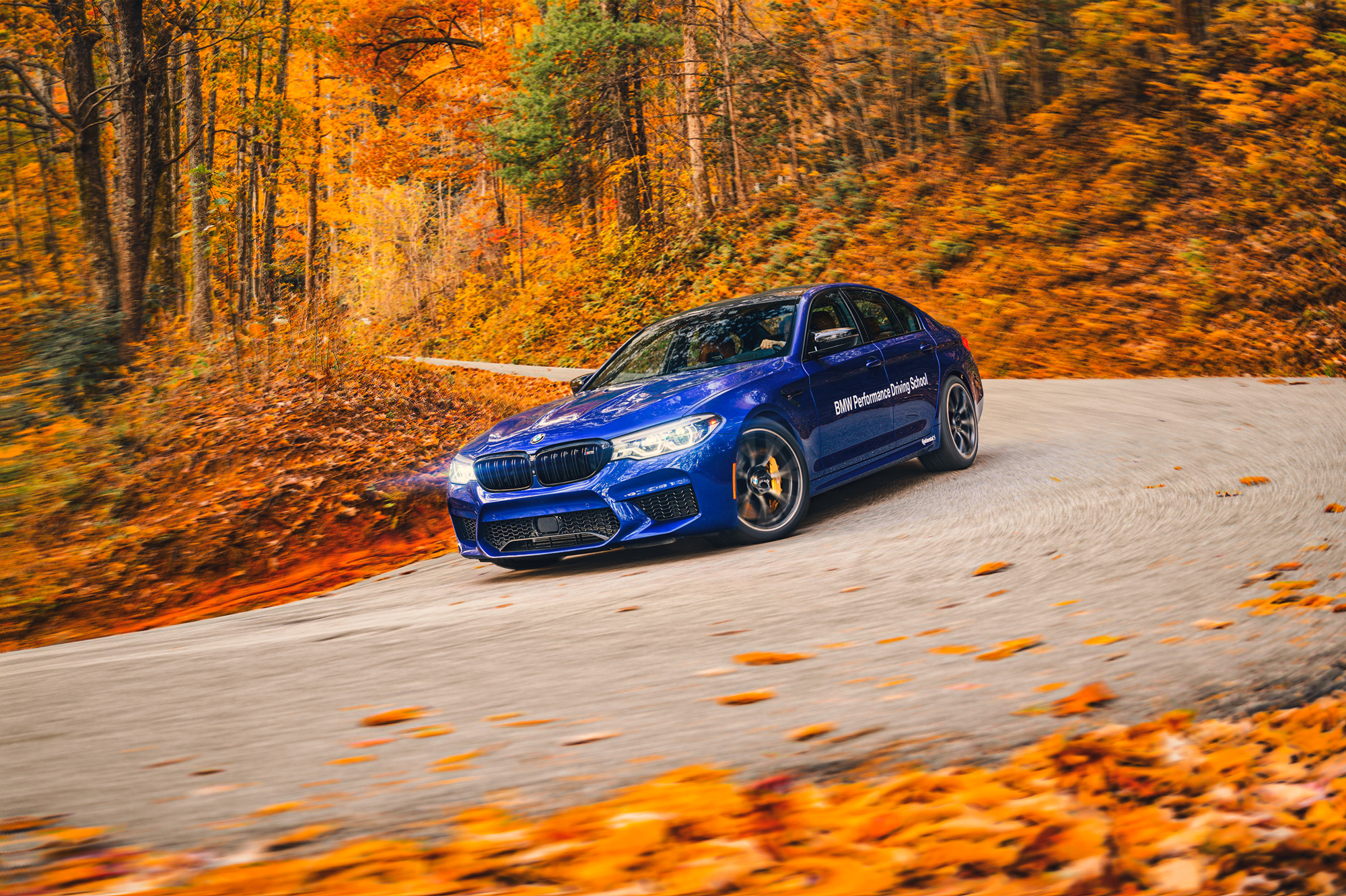 BMW M5 fall tour