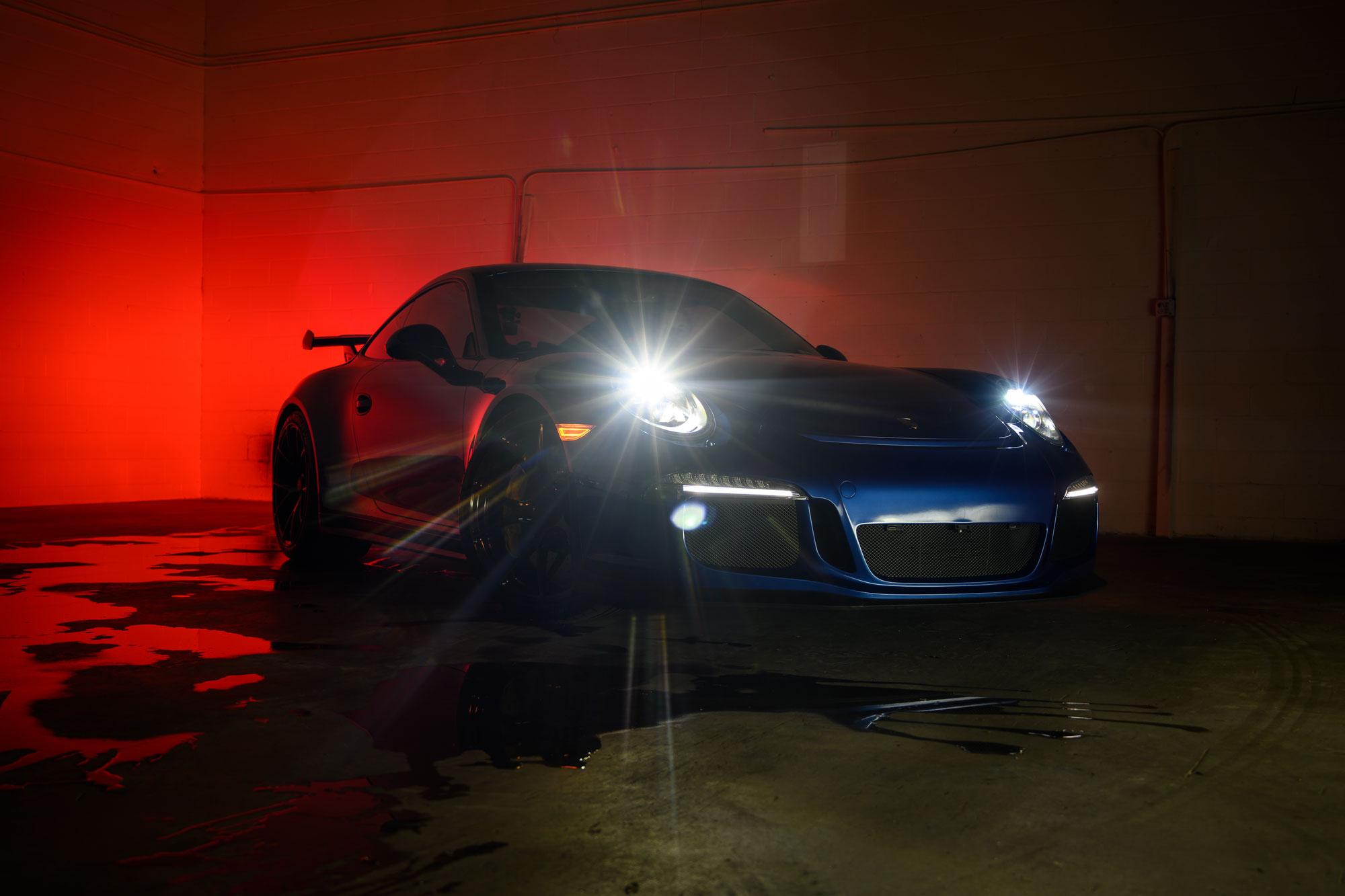 Porsche 911 headlights
