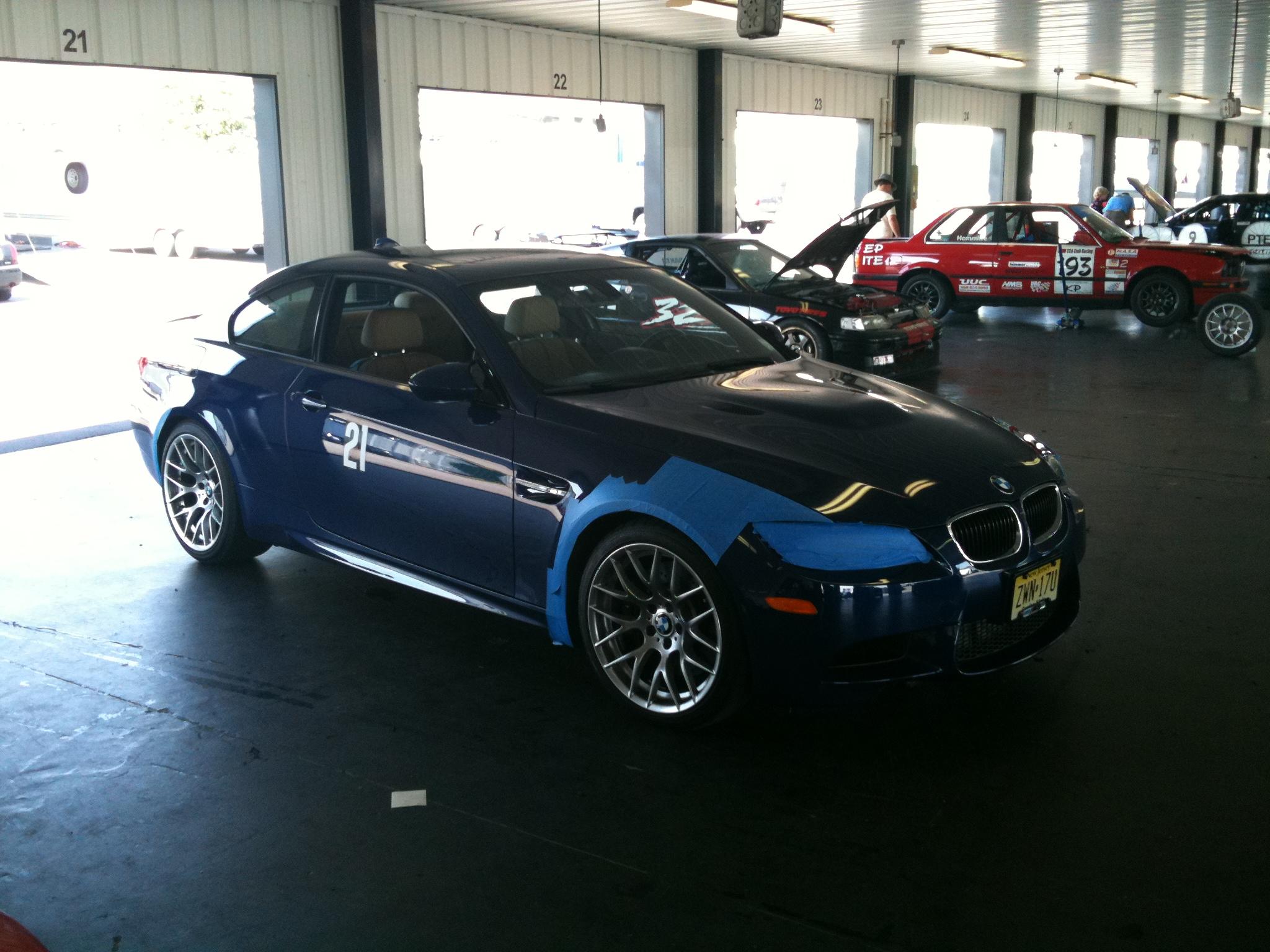 BMW E92 M3 Pocono Garage