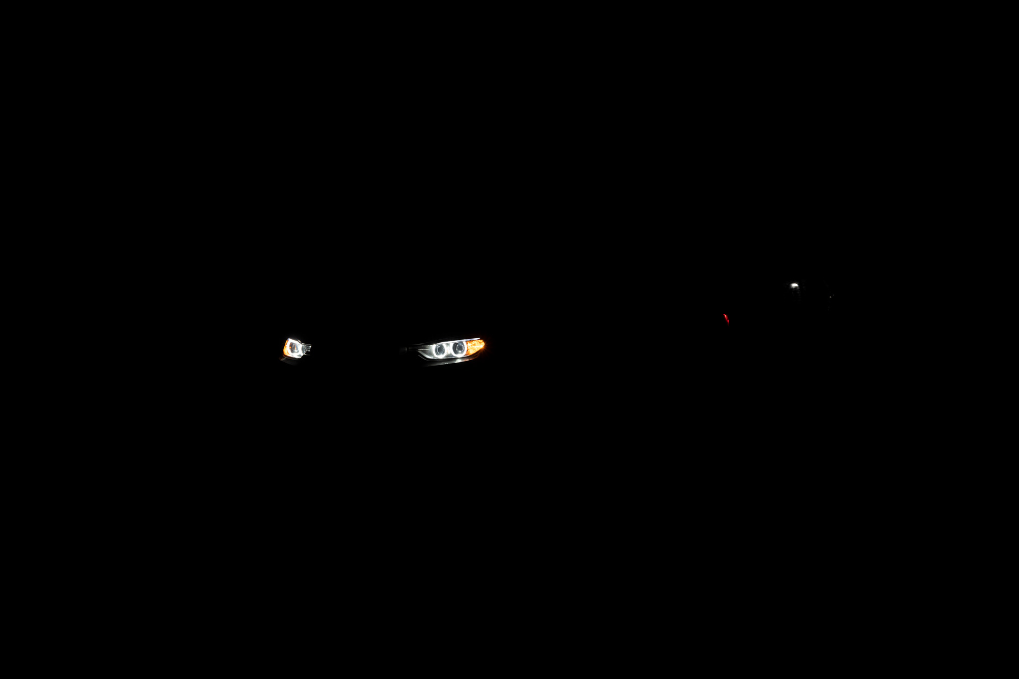 BMW 335i headlights