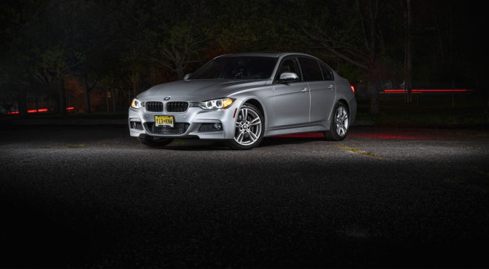 BMW 335i Light paint