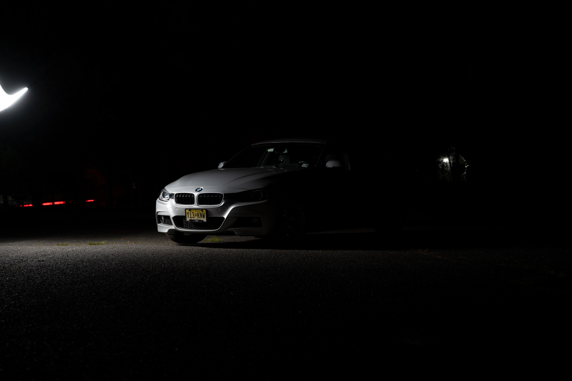 BMW 335i light painting demo