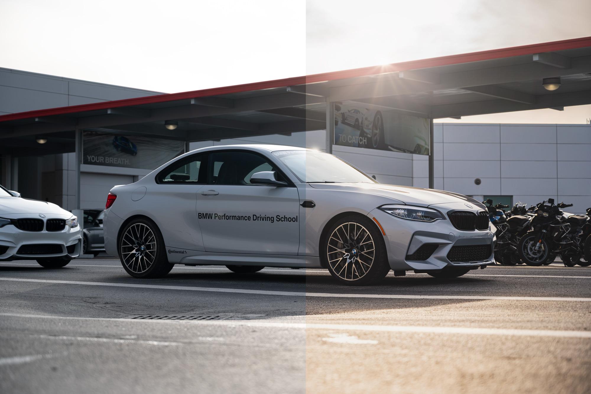 BMW M2 LUT demo