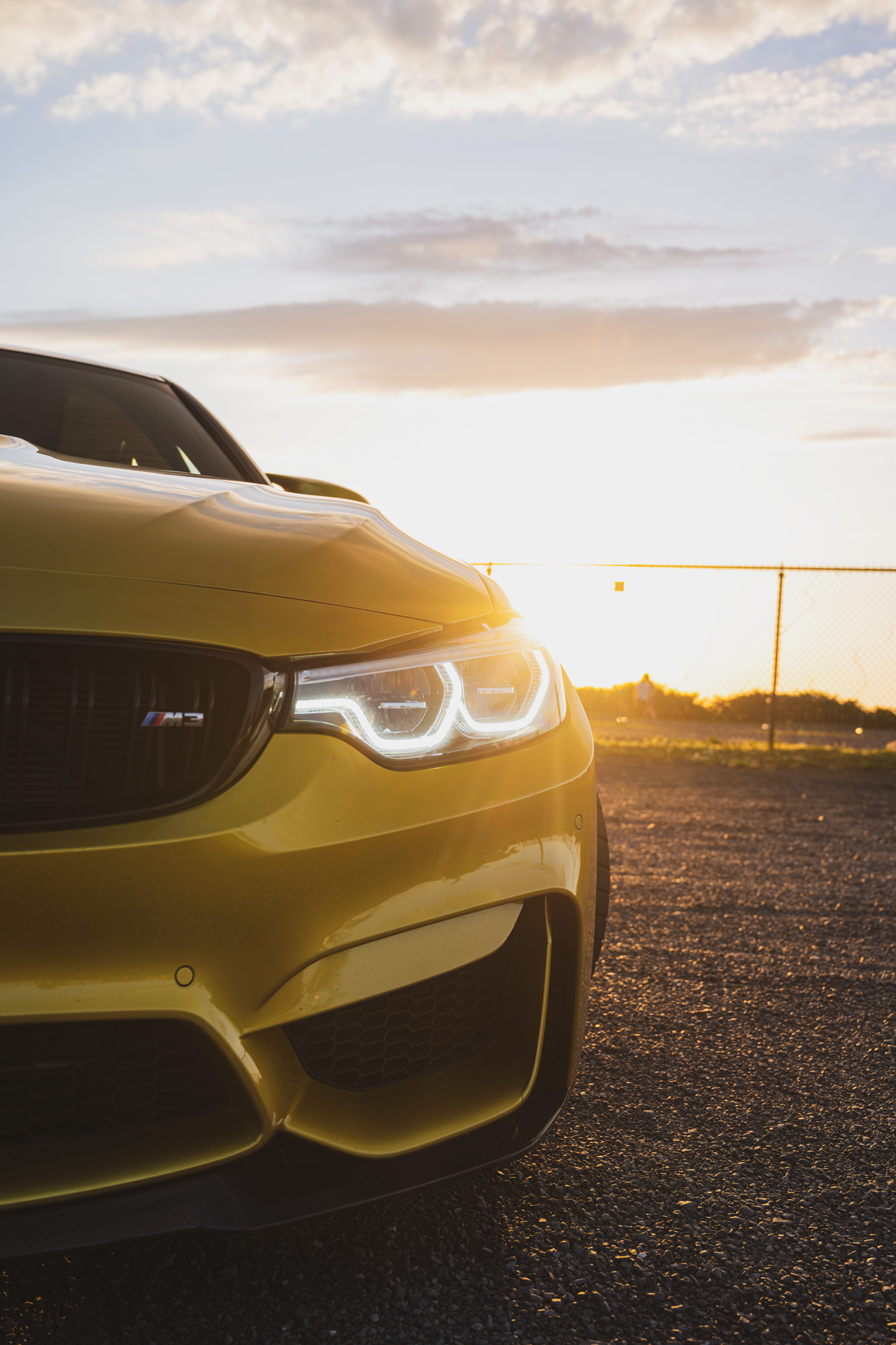 BMW M3 F80 sunrise