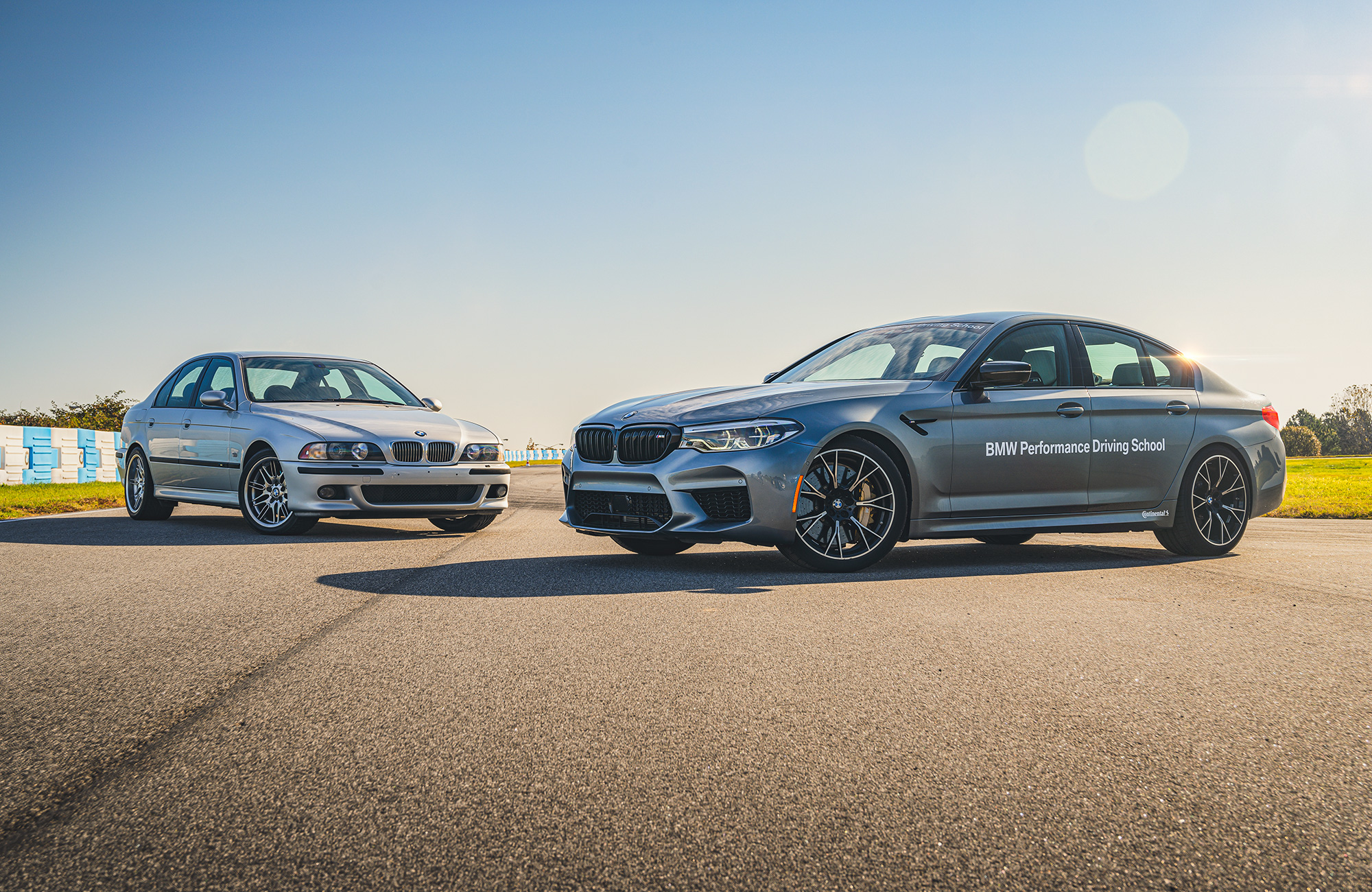 BMW M5 E39 and F90