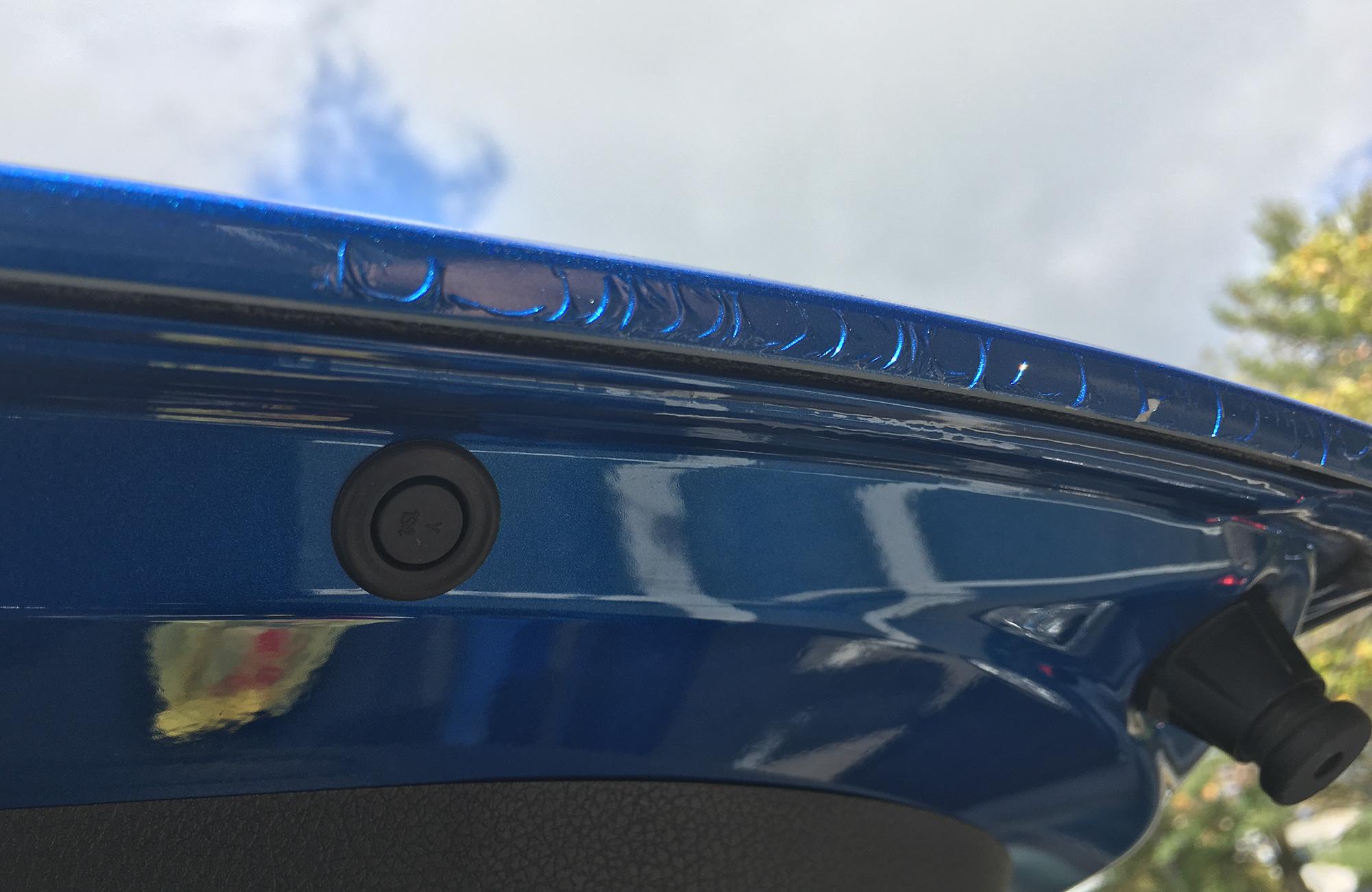Kia Stinger paint issue