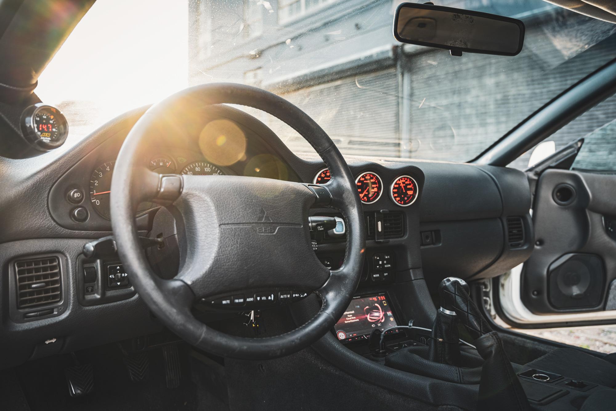 3000GT interior