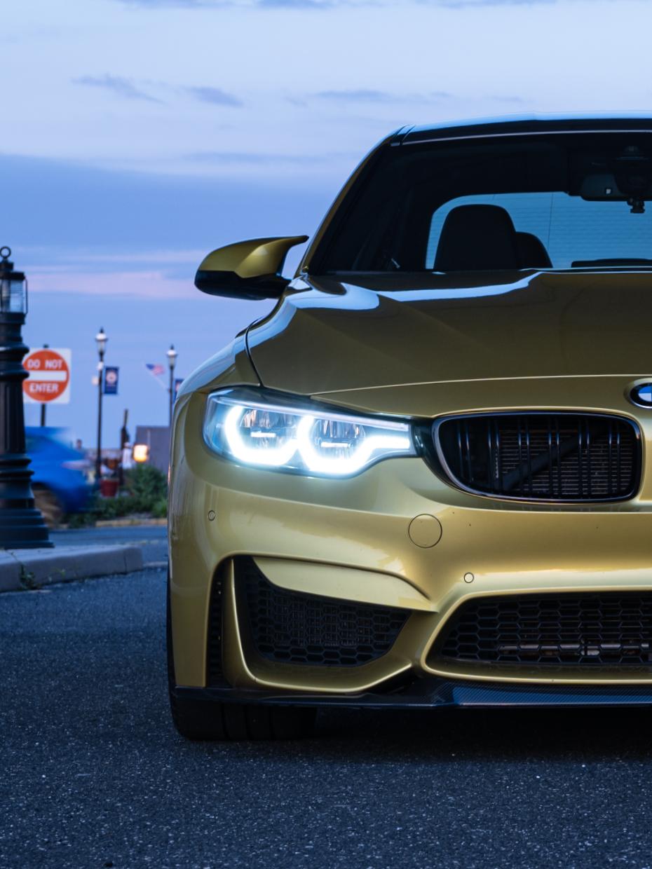 BWM M3 headlights