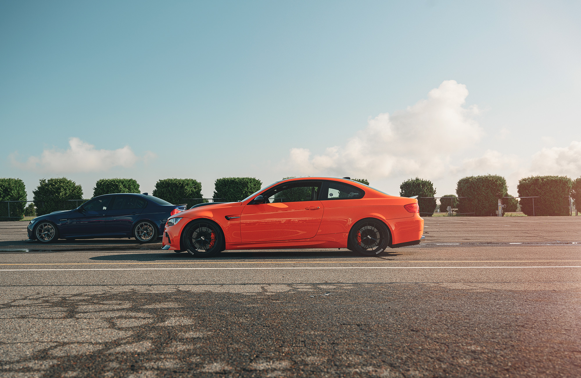 BMW M3s