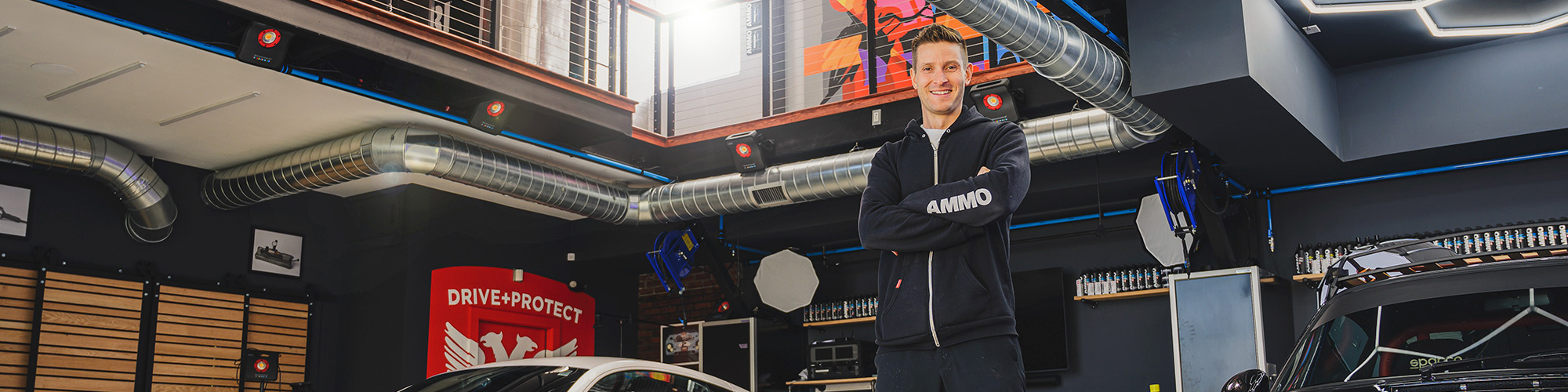 A tour of AMMO NYC'S New Garage