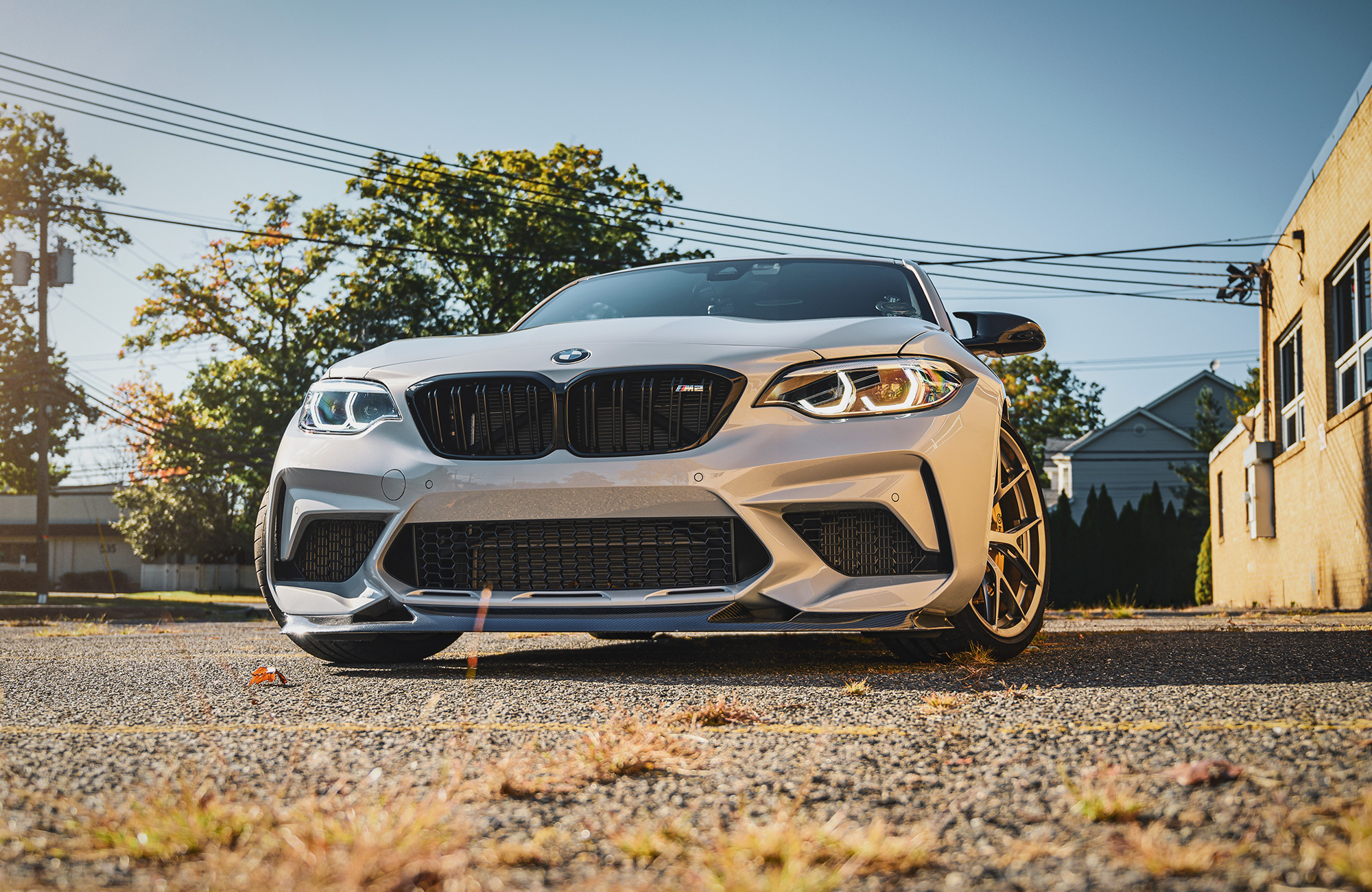 BMW M2 lower grill