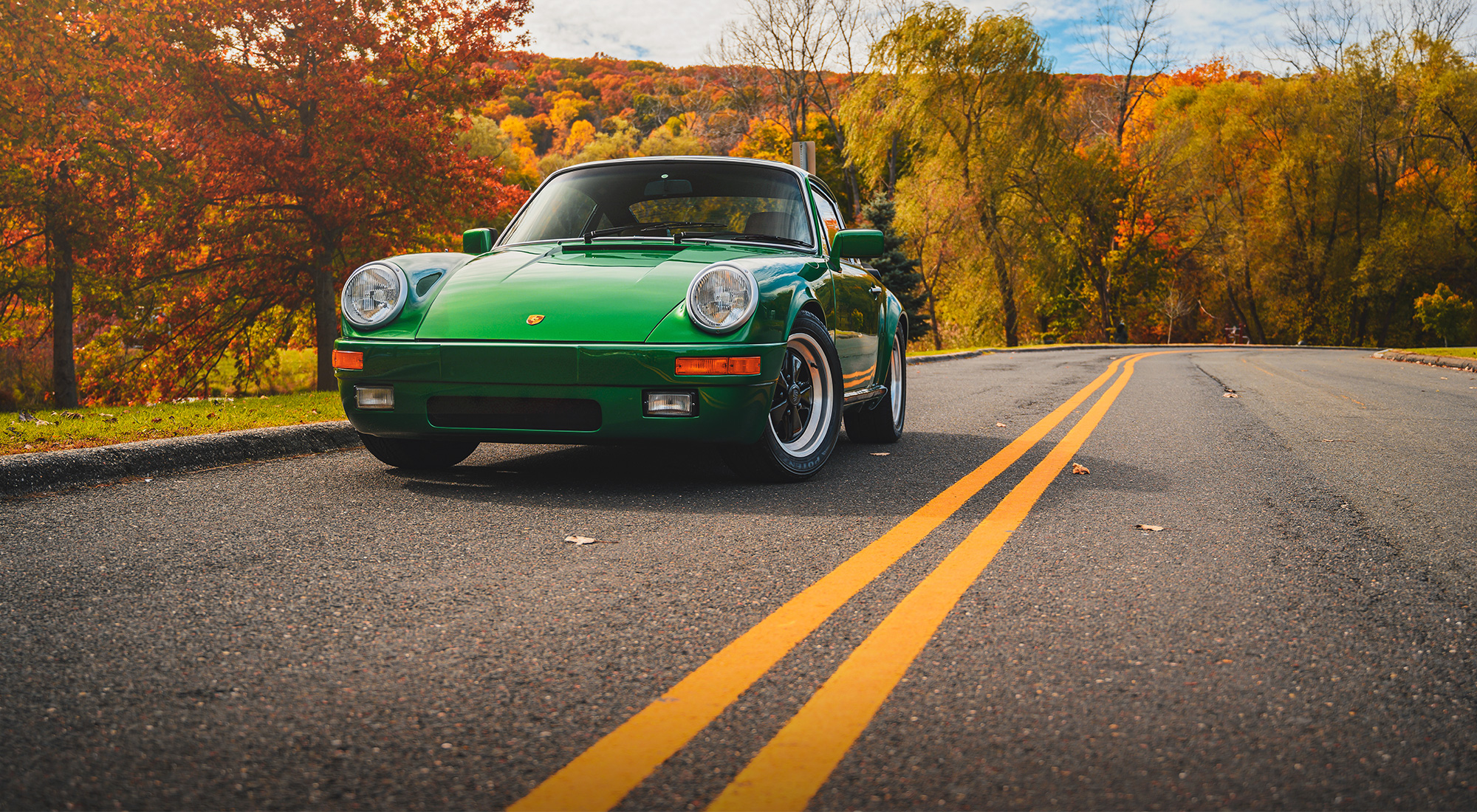 Shooting the Audrain Museum's Porsche 911