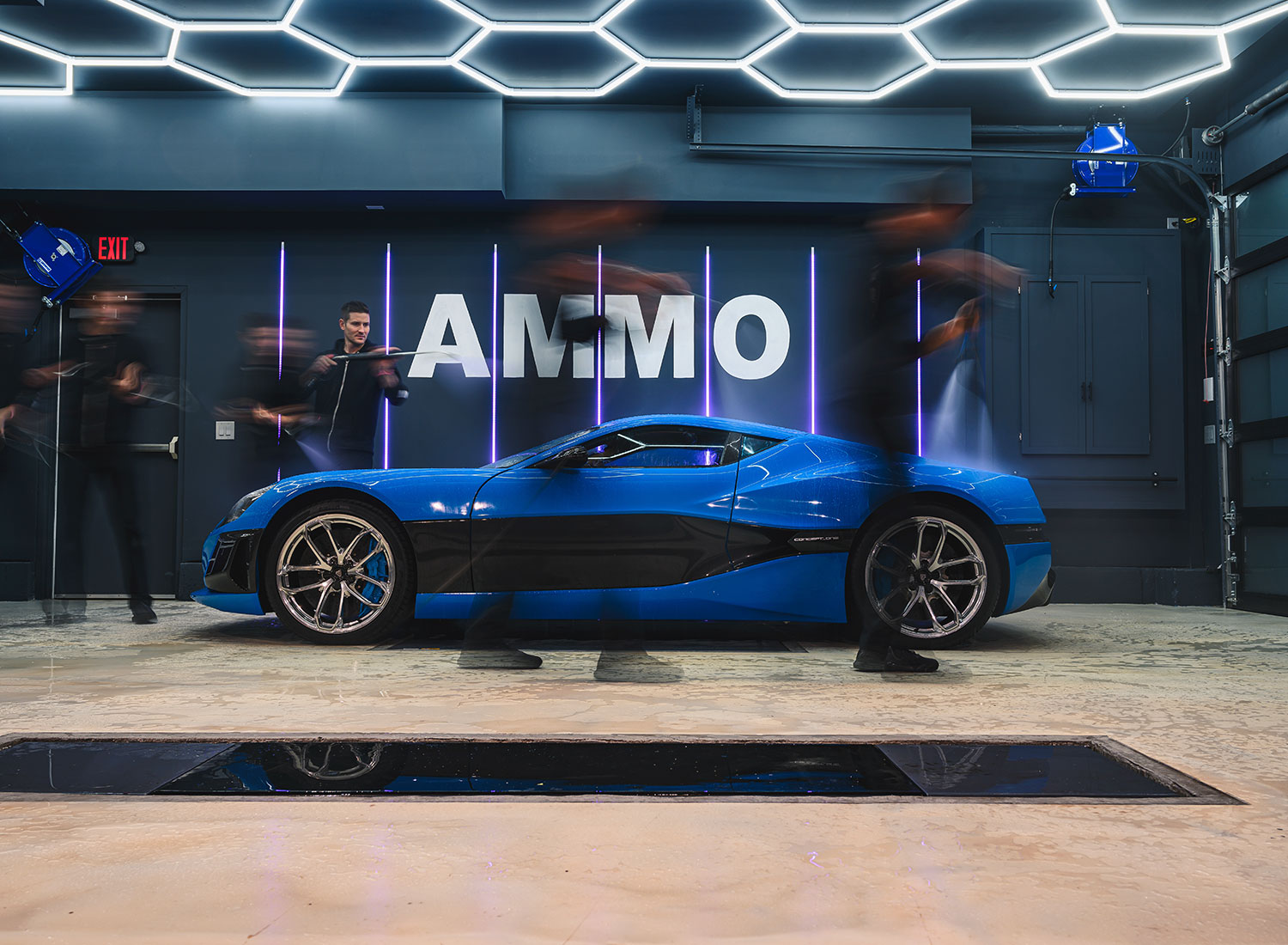 Rimac Concept One at AMMO NYC