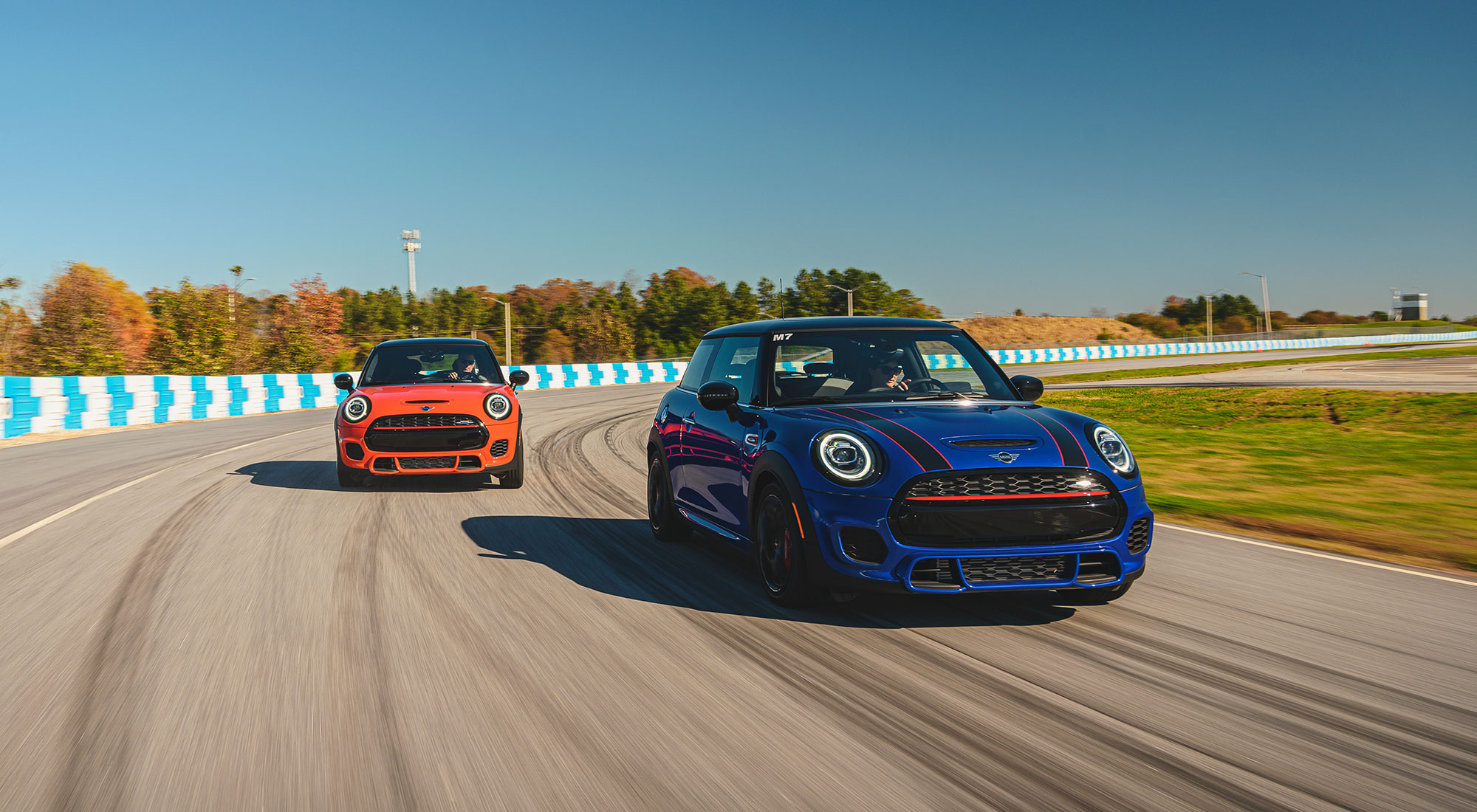 Shooting at the MINI Driving Experience
