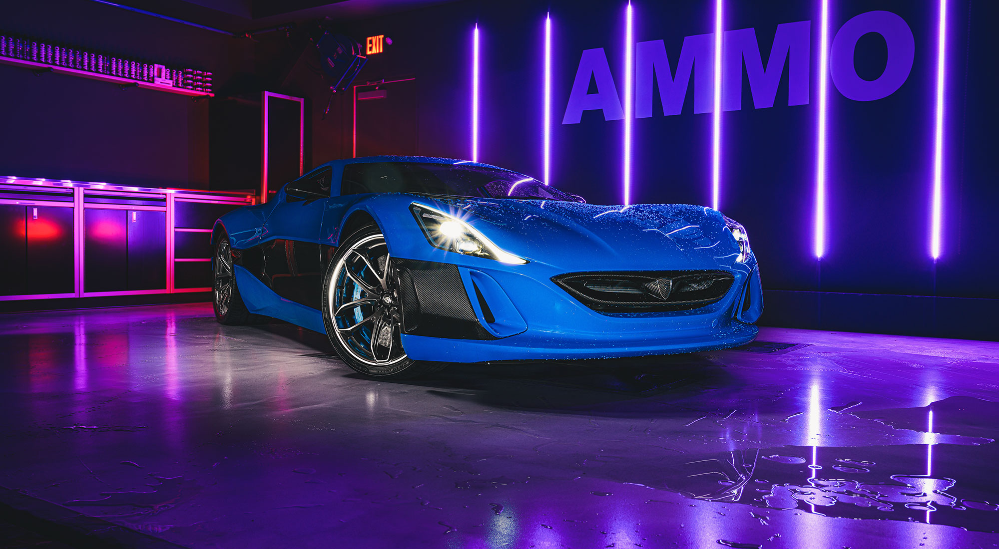 Shooting the Rimac Concept One
