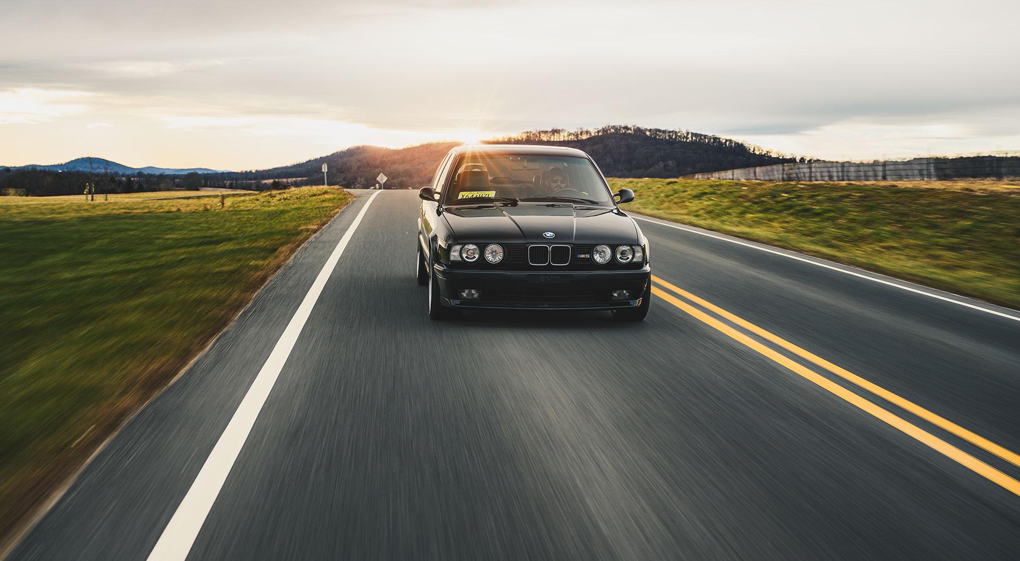 The BMW E34 M5 shoot