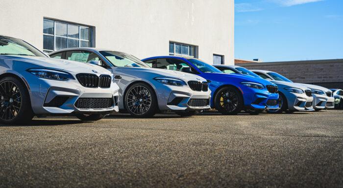 BMW M2 lineup