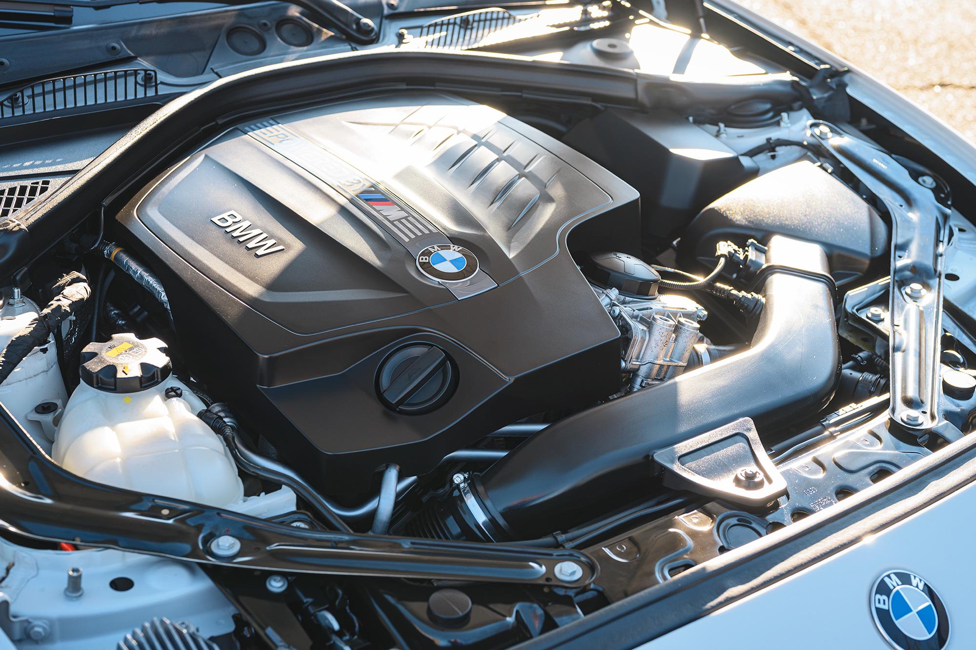 BMW M2 N55 engine