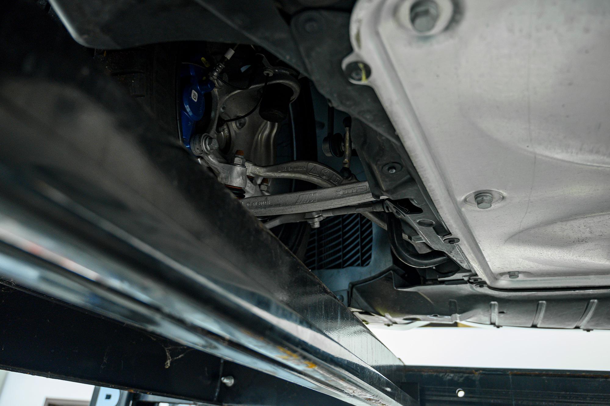 BMW M2 suspension